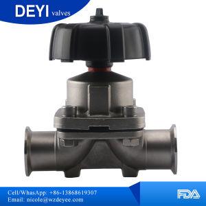 304/316L Sanitary Diaphragm Valve (DYTV-010) pictures & photos