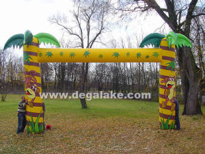 Palm Tree Inflatable Archway Inflatable Palm Tree Entrance Arch pictures & photos