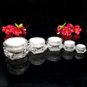 15g 30g 50g Cream Jar and Plastic Lotion Spray Bottle for Cosmetic Packaging (NST56) pictures & photos