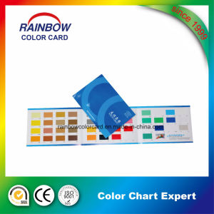 Three Folds Color Card for Decoration Coating pictures & photos