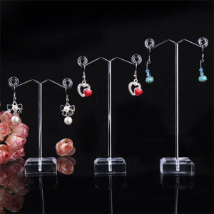 Advertising Acrylic Earring Display Stand Pop Clear Acrylic Stand pictures & photos