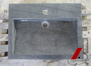 High Quality of Shower Cup Made of Granites (Shanxi Black) pictures & photos