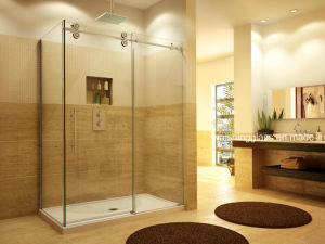 Cheap Price Tempered Glass Shower Glass with Certificate pictures & photos