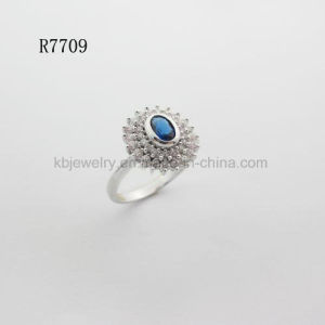 Pure 925 Silver Fashion Jewelry Ring Lady Jewellery (R7709) pictures & photos