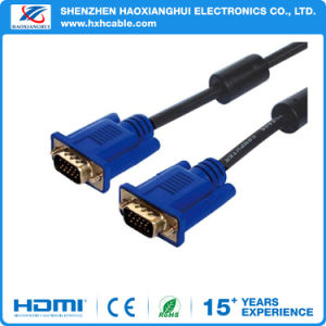 Shenzhen Nickel Plated VGA Cable with Screws pictures & photos