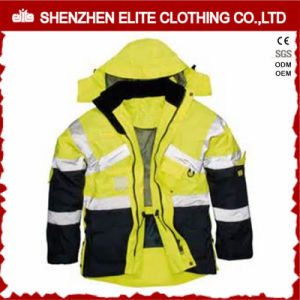 High Visibility Waterproof Reflective Work Jacket for Men (ELTSJI-1) pictures & photos