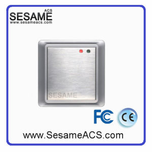 High Quality Stainless Steel Wire Drawing Panel Em/ID Card Reader (SAC106R) pictures & photos