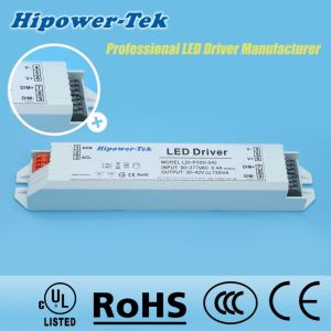 30W Constant Current Plastic Case Power Supply LED Driver pictures & photos