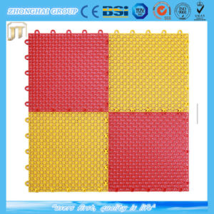Outdoor Sports Usage Inflexible Plastic Hollow Splicing Modular Floor Mat pictures & photos