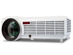 Newest Home Theater Office AV USB VGA 1080P Full HD LCD LED 96 WiFi 3D Projector pictures & photos