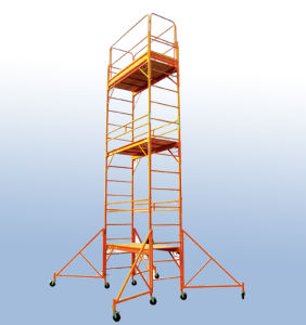 High Quality Steel Multi-Use Scaffold with Guard Rail pictures & photos