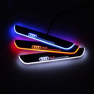 Acrylic Moving for Audi Car Scuff Plate for Audi A7 R7 RS7 pictures & photos