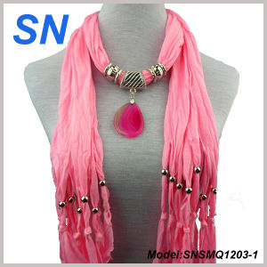 Fashion Jesery Jewelery Scarves (SN1203-1) pictures & photos