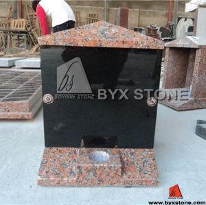 Maple Red Granite Cemetery Columbarium / Mausoleum pictures & photos