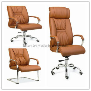High Back Office Manager Chair with Arms (LL-OF003) pictures & photos