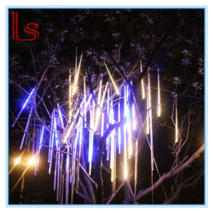 Wholesale Outdoor Waterproof Decorative Christmas Tree Lights 80 Cm Holiday Flashing Meteor Lights pictures & photos
