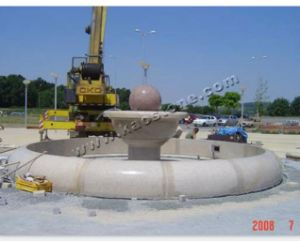 Granite Ball Fountain for Outdoor Decoration pictures & photos