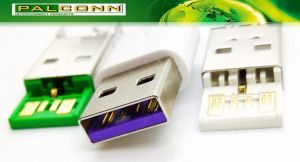 USB3.0 Plug 5 Positions Current Rating~8A for Oppo Mobile Phone Cable pictures & photos
