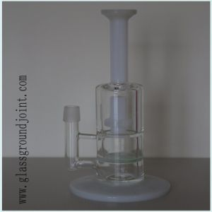 Heat Resistant Glass Smoking Water Pipe Hookah with Ground Joint pictures & photos
