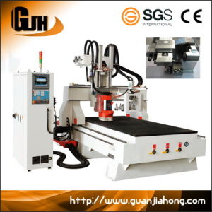Auto Tool Changer Woodwofking CNC Center with Hsd Drill and Saw pictures & photos