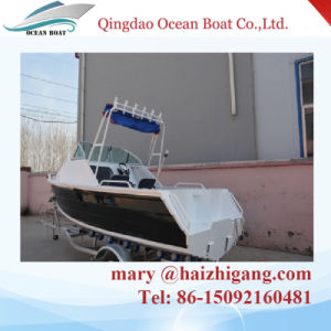 5.0m 17FT Aluminum Fishing Yatch Cuddy Cabin Press Boatwith Ce Certification pictures & photos