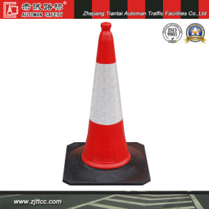 75cm Big Rubber Base Orange Traffic Road Safety Cone (CC-A44) pictures & photos