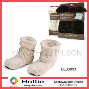 Microwave Massage Boots/Indoor Shoes/TV Slipper/Comfortable Foot/Filled Shoes