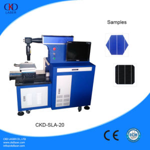 Solar Cell Cutting Fiber Slicer Laser Machine pictures & photos