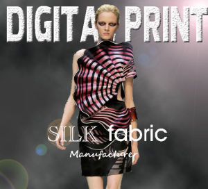 100% Fashion Print Satin Service (YC108) pictures & photos