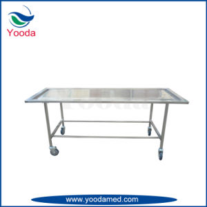 Hydraulic Funeral Mortuary Embalming Table pictures & photos