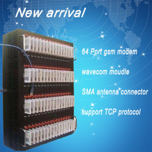 64 Channel USB GSM Modem/Bulk SMS Modem with Wavecom Module