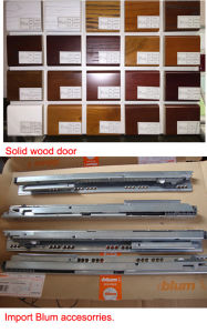 Bck American Solid Wood Veneer Kitchen Cabinet pictures & photos