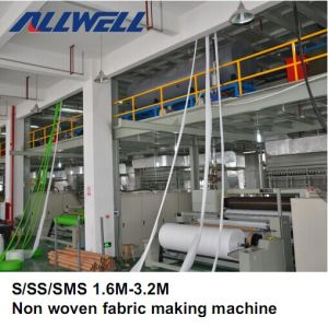 Automatic Non Woven Fabric Making Machine pictures & photos