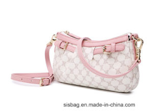 New Trendy PU Middle-Aged Ladies Bag Mother′s Bag Shoulder Bag pictures & photos