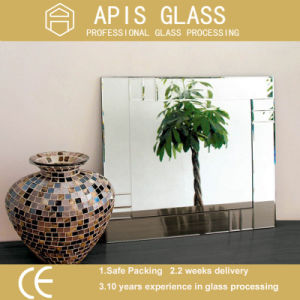 4 - 6mm Double Coated Clear Silver Mirror Glass for Home pictures & photos