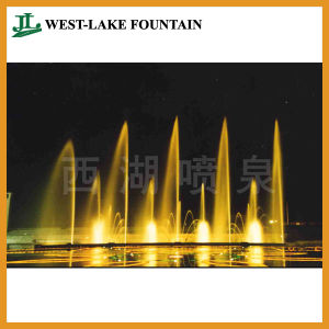 Beautiful Lighting Water Dancing Round Pool Fountain for People′s Square pictures & photos
