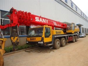 Used Sany 50t Truck Crane 2012 Year pictures & photos