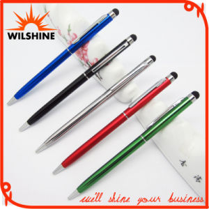 Slim Hotel Promotional Metal Stylus Ball Point Pen (IP016) pictures & photos