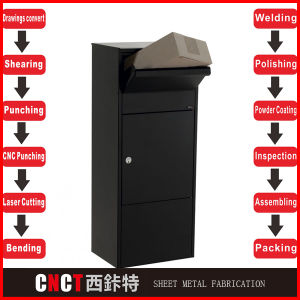 Outdoor Stainless Steel Mail Box pictures & photos