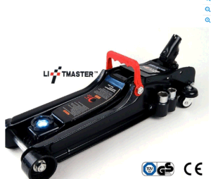 Liftmaster 2.25 Ton Low Profile Hydraulic Trolley Car Jack with LED & Nut Brace pictures & photos