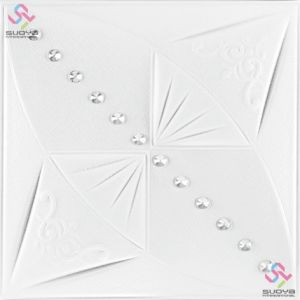 3D PU Leather Wall Panel & Ceiling Tile 1146 pictures & photos