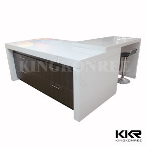 Custom Size Kitchen Countertop Composite Stone Island
