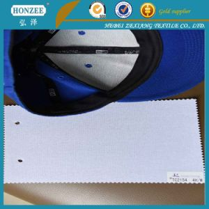 Non-Recycle Fiber 100%Polyester Adhesive Knitted Interlining for Cap pictures & photos