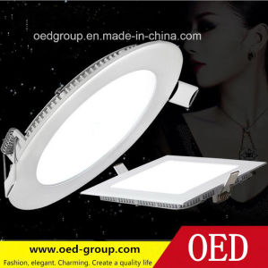 12W LED Panel Ceiling, Round LED Panel Lighting pictures & photos