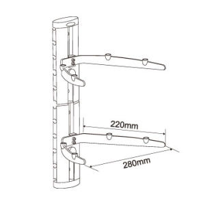 TV Accessories Mount DVD Wall Bracket pictures & photos