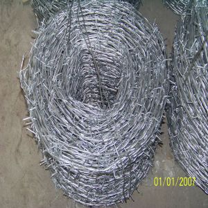 Gal. Barbed Iron Wire