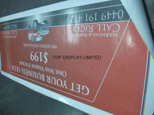 Custom Outdoor Advertising Signage Mesh Banner pictures & photos