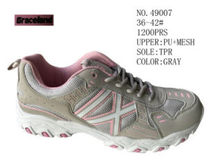 No. 49007 Women Size Casual Stock Shoes pictures & photos