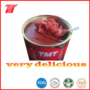 Turkish 400g Canned Tomato Paste of Tmt Brand pictures & photos