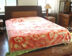 Luxury Raschel Mink Wool Blanket (MQ-RW-001) pictures & photos